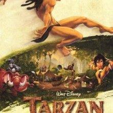 La locandina di Tarzan