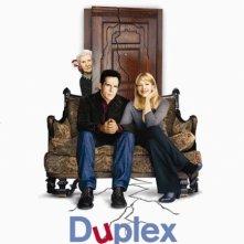 La locandina di Duplex - Un appartamento per tre