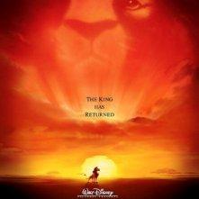 La locandina di Il re leone