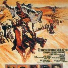 La locandina di Lawrence d'Arabia