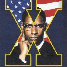 La locandina di Malcolm X
