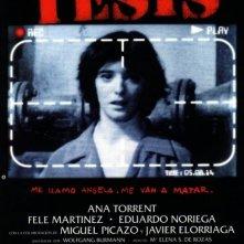 La locandina di Tesis