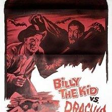La locandina di Billy the kid contro Dracula