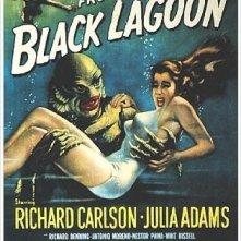 La locandina di Il mostro della laguna nera