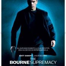 La locandina di The Bourne Supremacy