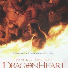 La locandina di Dragonheart
