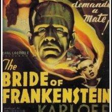 La locandina di La moglie di Frankenstein