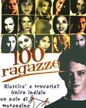 La locandina di 100 ragazze