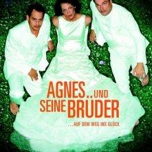 La locandina di Agnes und seine Brüder