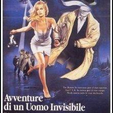 La locandina di Avventure di un uomo invisibile