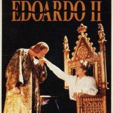 La locandina di Edoardo II