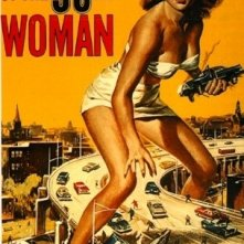 La locandina di Attack of the 50 Foot Woman