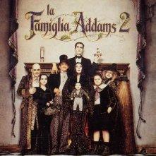 La locandina di La famiglia Addams 2