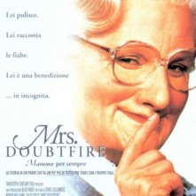 La locandina di Mrs. Doubtfire - Mammo per sempre