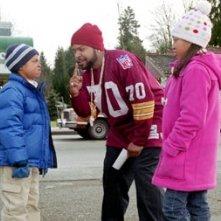 Philip Bolden, Ice Cube e Aleisha Allen in una scena di Io, lei e i suoi bambini