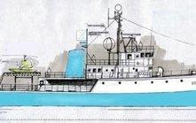 Un disegno del sommergibile del Team di Zissou