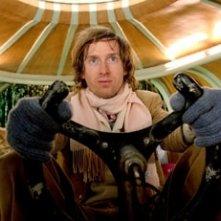Wes Anderson sul set di Le avventure acquatiche di Steve Zissou