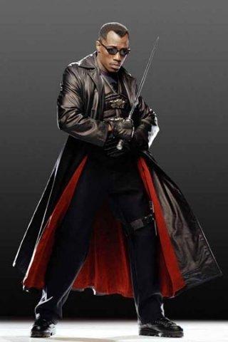 Wesley Snipes in una foto promozionale di Blade: Trinity