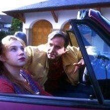 Larissa Iwlewa e Christian Leonard in una scena di Heimat 3