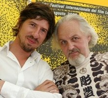 Locarno 2006 -  NO BODY IS PERFECT Raphaël Sibilla, regista e Matty Jankowski, uno dei protagonisti del documentario