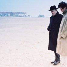 Michel Bouquet e Jalil Lespert in una scena di Le passeggiate al Campo di Marte