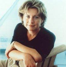 La scrittrice americana Patricia Cornwell
