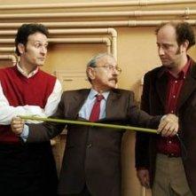 Pippo Santonastaso con Ale e Franz in una scena di La terza stella