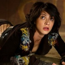 Asia Argento in una scena di Land of the Dead