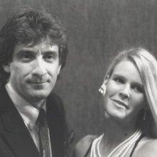 Ezio Greggio e Sharon Gusberti in una foto promozionale per Yuppies