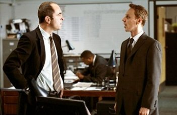James Nesbitt e Ewen Bremner in Match Point