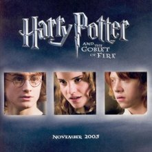 La locandina di Harry Potter e il calice di fuoco