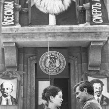 Madrid, maggio 1965: Geraldine Chaplin e Omar Sharif sul set de Il dottor Zivago