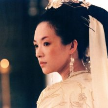 Zhang Ziyi in una scena di The Banquet