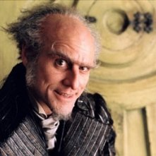 Jim Carrey in una scena di Lemony Snicket - Una serie di sfortunati eventi