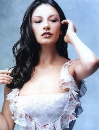 l'attrice gallese Catherine Zeta-Jones