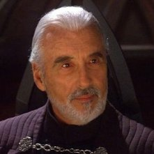 Christopher Lee è il conte Dooku in Star Wars ep. II