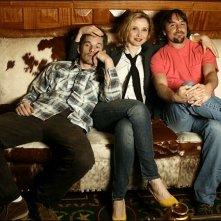 Hawke, Delpy e Linklater posano insieme
