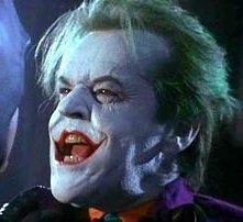 Jack Nicholson è l'iniquo Joker