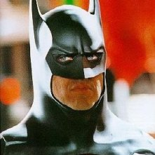 Michael Keaton nei panni dell'eroe mascherato di Gotham City