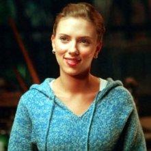 Scarlett Johansson in una scena del dramma In Good Company