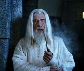 Il grande Ian McKellen è Gandalf il Bianco