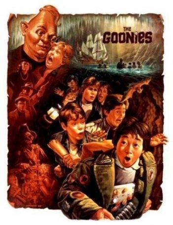 Il manifesto de I Goonies