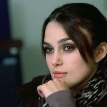 Keira Knightley in una scena di The Jacket