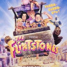 La locandina di The Flinstones