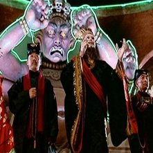 Una scena di Grosso guaio a Chinatown (Big trouble in Little China)