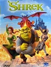 La copertina DVD di Shrek