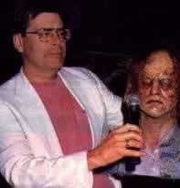 Stephen King sul set di Cabal