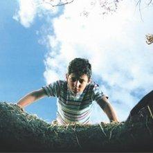 Il piccolo Giuseppe Cristiano in una scena di Io non ho paura