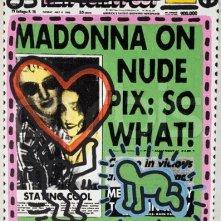 Il regalo per le nozze di Madonna e Sean Penn, da parte di Andy Warhol e Keith Haring