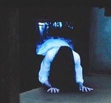 Una spaventosa scena di Ringu